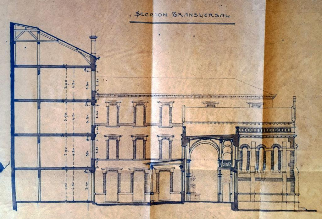 Proyecto de José María Basterra. 1905
